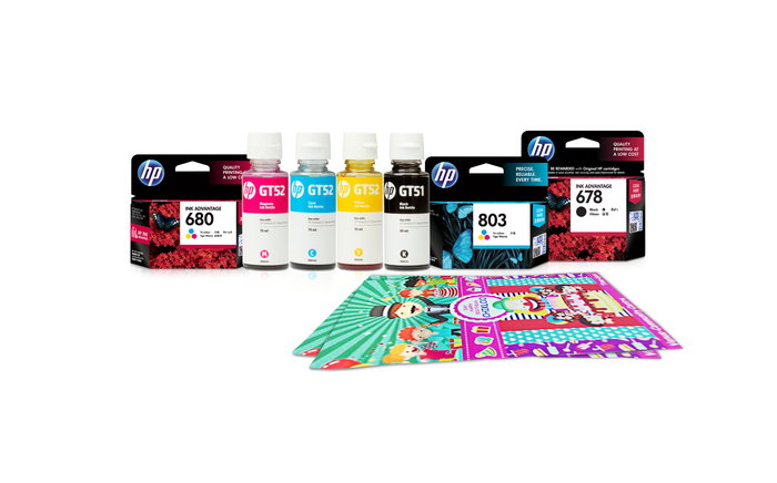 HP ink products.