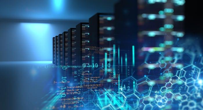 Image of datacenter stacks