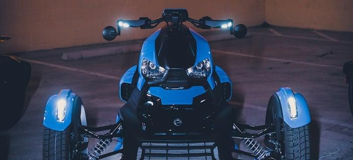 BRP's Can-Am Ryker three-wheeler