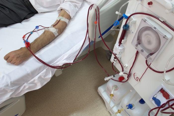 Patient on dialysis