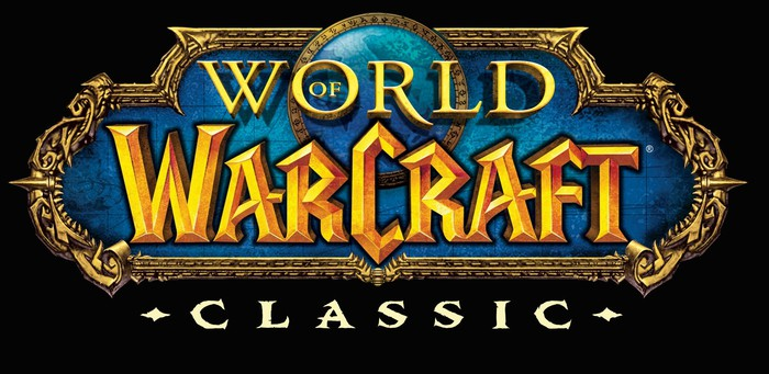 The World of Warcraft Classic logo.