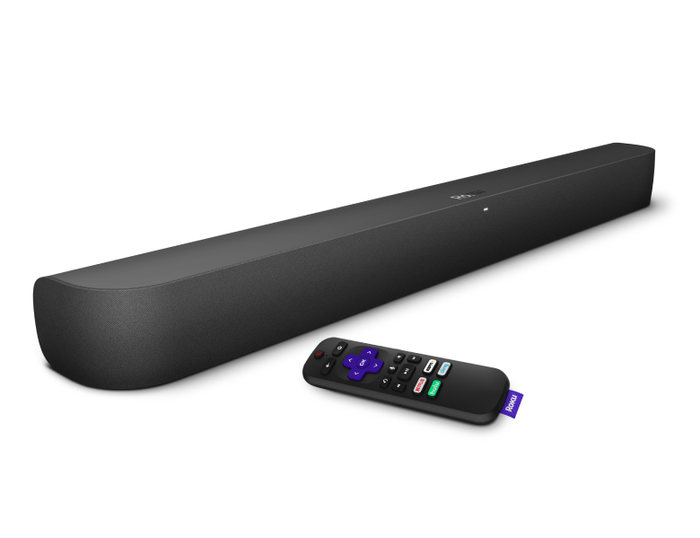 Roku Smart Soundbar and remote