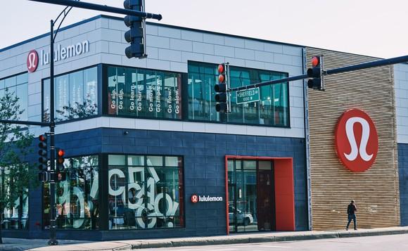 A Lululemon store