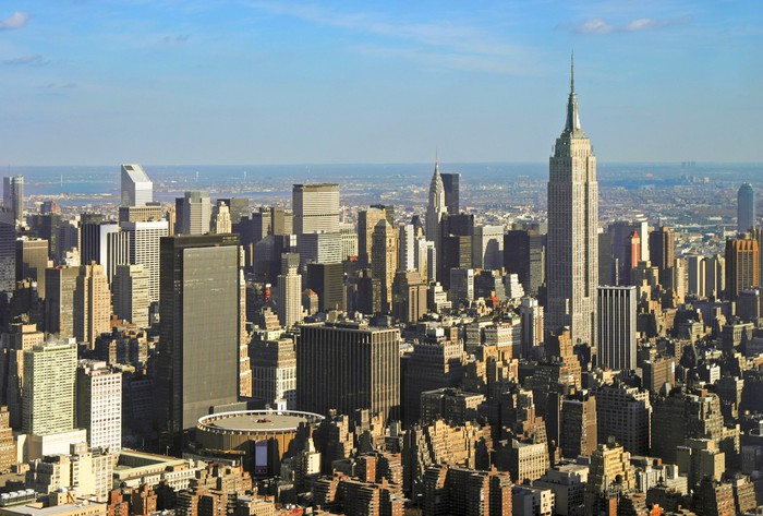 Midtown Manhattan including Madison Square Garden