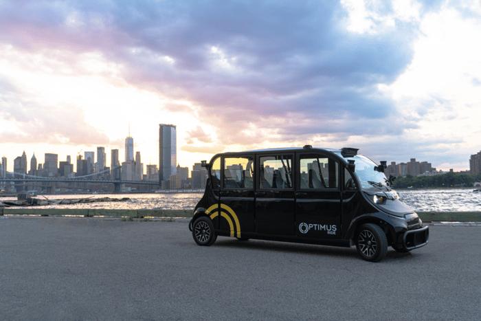 Optimus Ride self-driving vehicle, courtesy of Optimus Ride