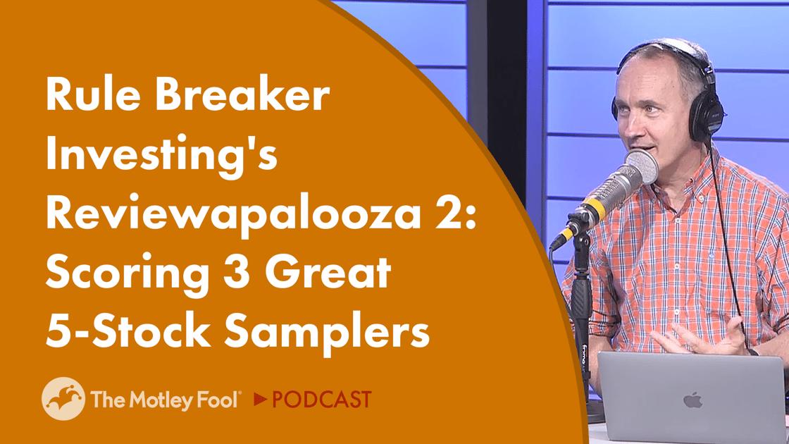 Rule Breaker Investing's Reviewapalooza 2: Scoring 3 Great 5-Stock Samplers