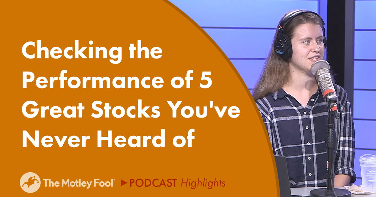 Checking the Performance of 5 Great Stocks You've Never Heard Of
