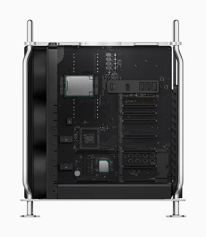 Inside of a Mac Pro