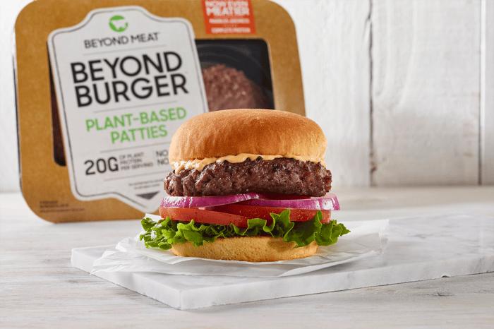 A Beyond Burger.