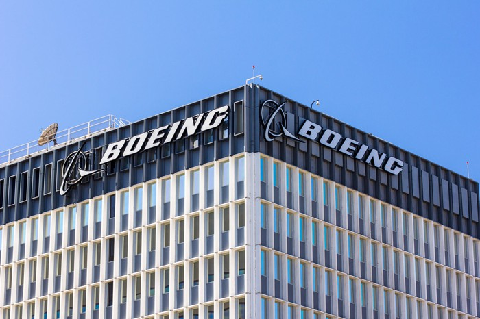 A Boeing corporate facility.