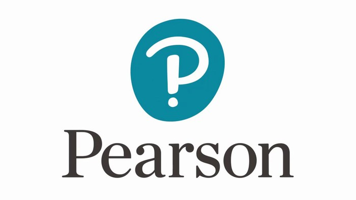 Pearson logo of stylized P made into an explanation point and question mark.