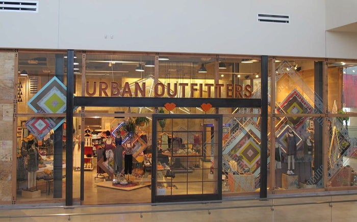 The entrance to an Urban Outfitters store