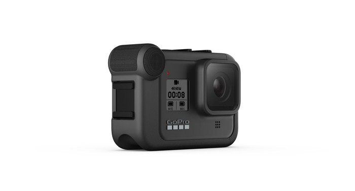 GoPro HERO8 camera with a media mod