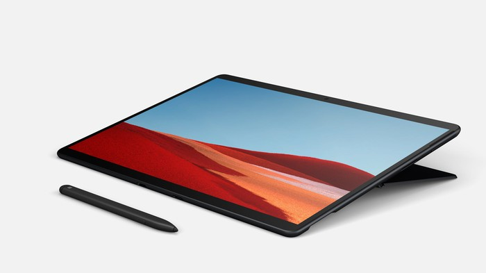 Surface Pro X and stylus