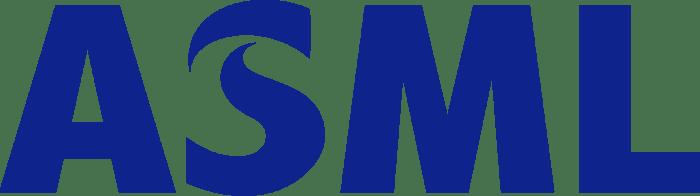 ASML's logo.