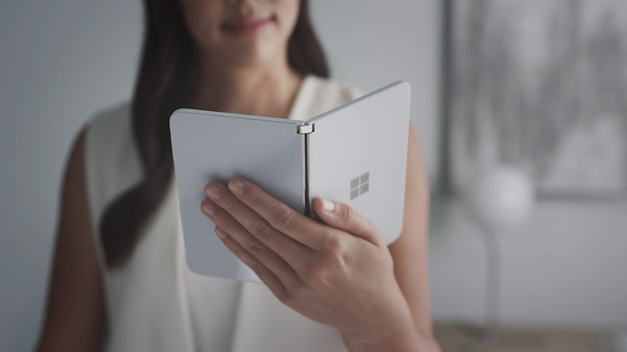 Microsoft's Surface Duo.