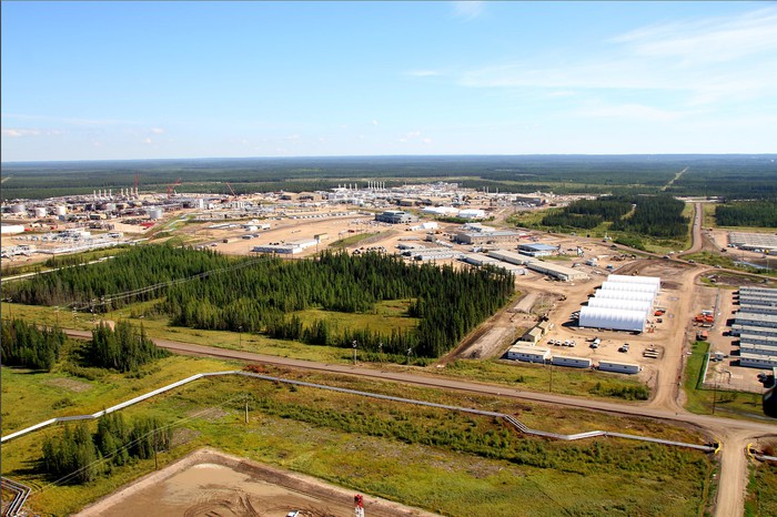 Cenovus' Foster Creek production site