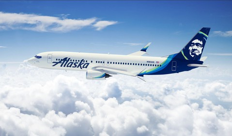 Airline-Alaska Air Group-ALK Boeing 737