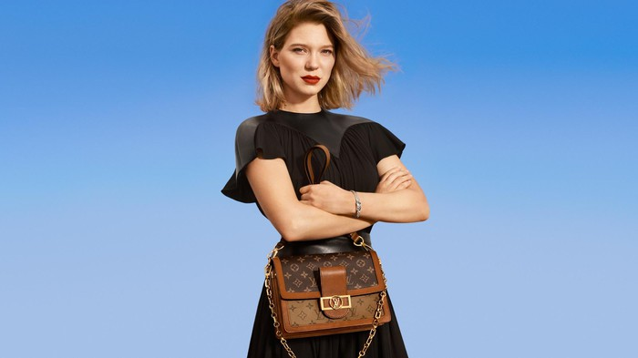 Louis Vuitton's New Classics campaign.