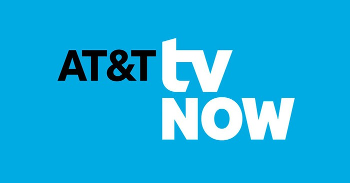 The AT&T TV Now logo