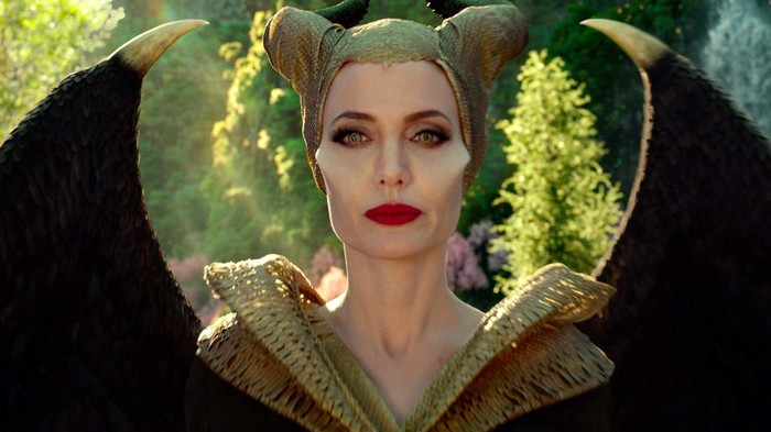 Angelina Jolie as the title character in Maleficent: Mistress of Evil