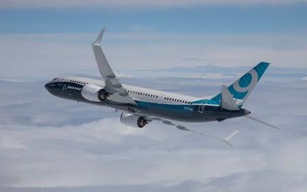Aerospace Boeing 737 MAX 9 BA