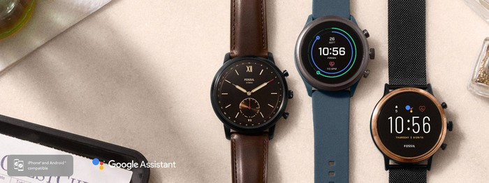 Fossil's newest Wear OS smartwatches