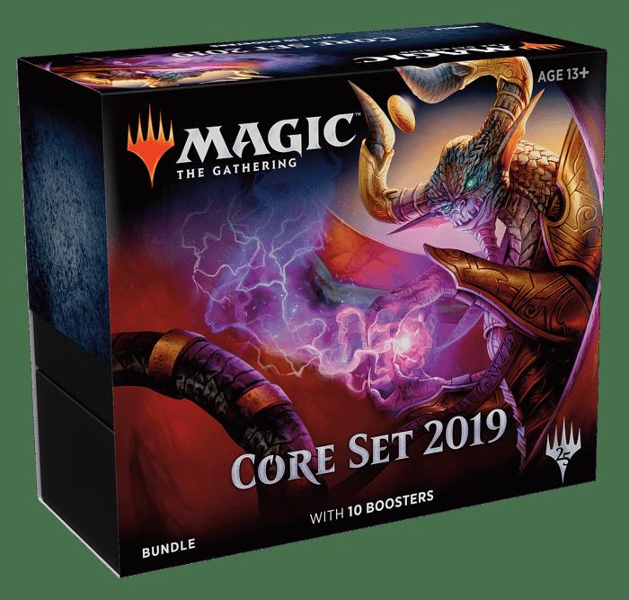 A Magic: The Gathering 2019 core set