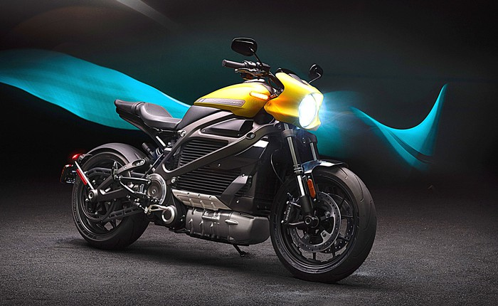 The Harley-Davidson Livewire electric motorcycle