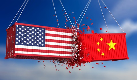 China USA trade war containers