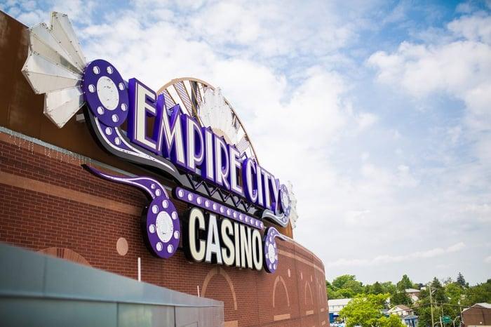 Empire City Casino sign