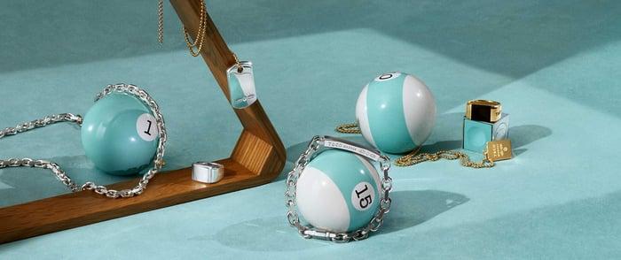 Tiffany's jewelry for men.
