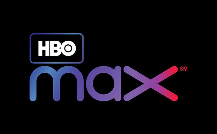 HBO Max logo on a black background