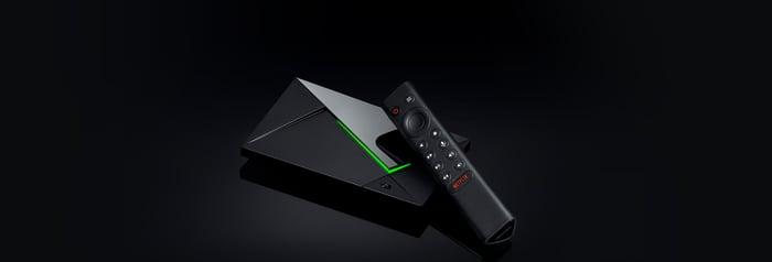 NVIDIA's new Shield TV Pro.