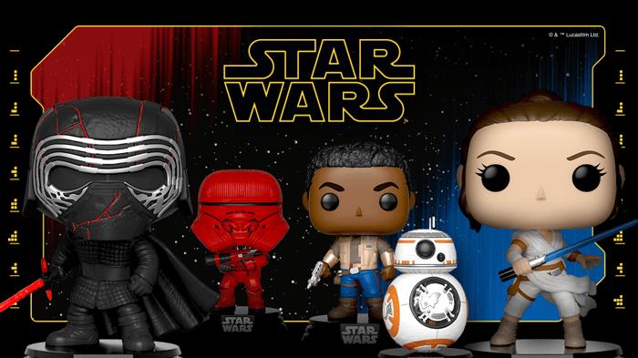 Funko's Star Wars figures.