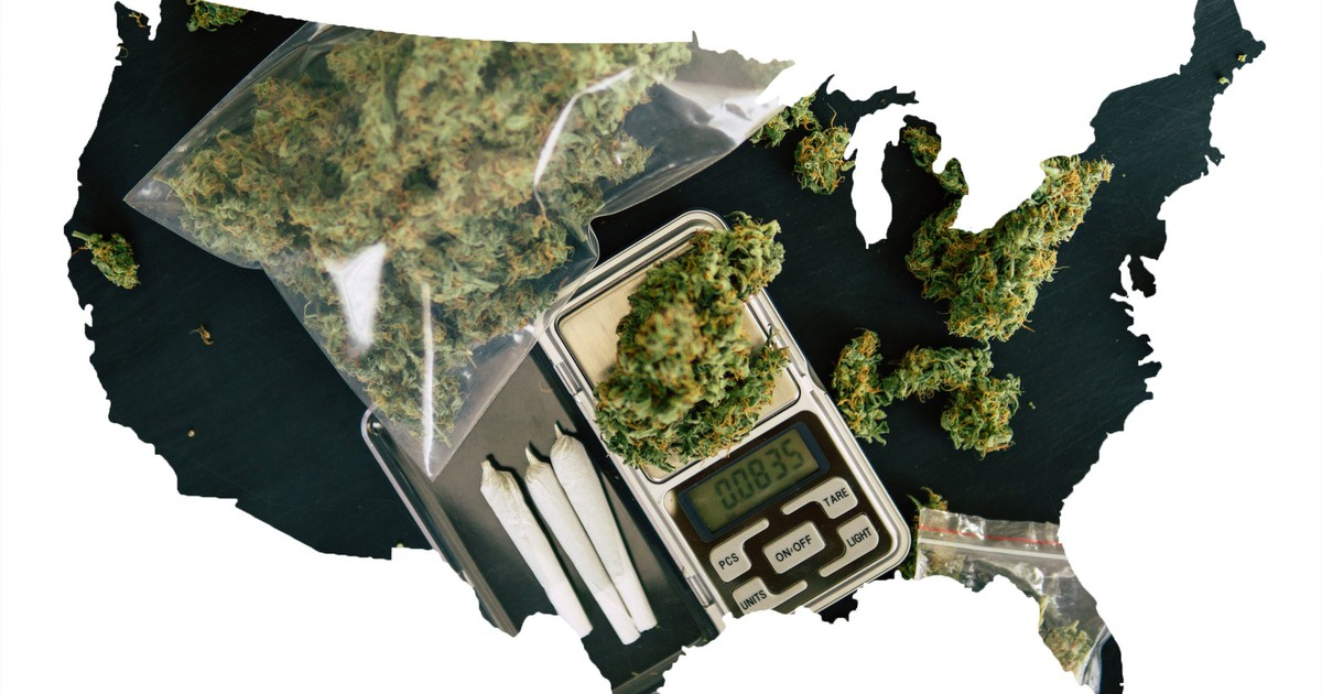 17 States Where Marijuana Remains Illegal