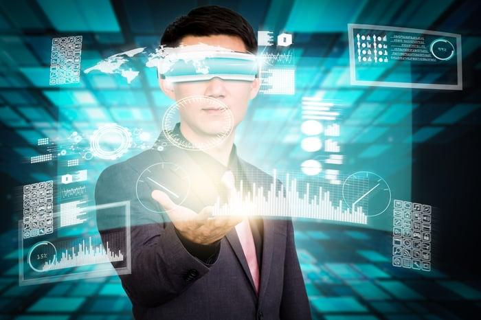 Digital representation of virtual reality