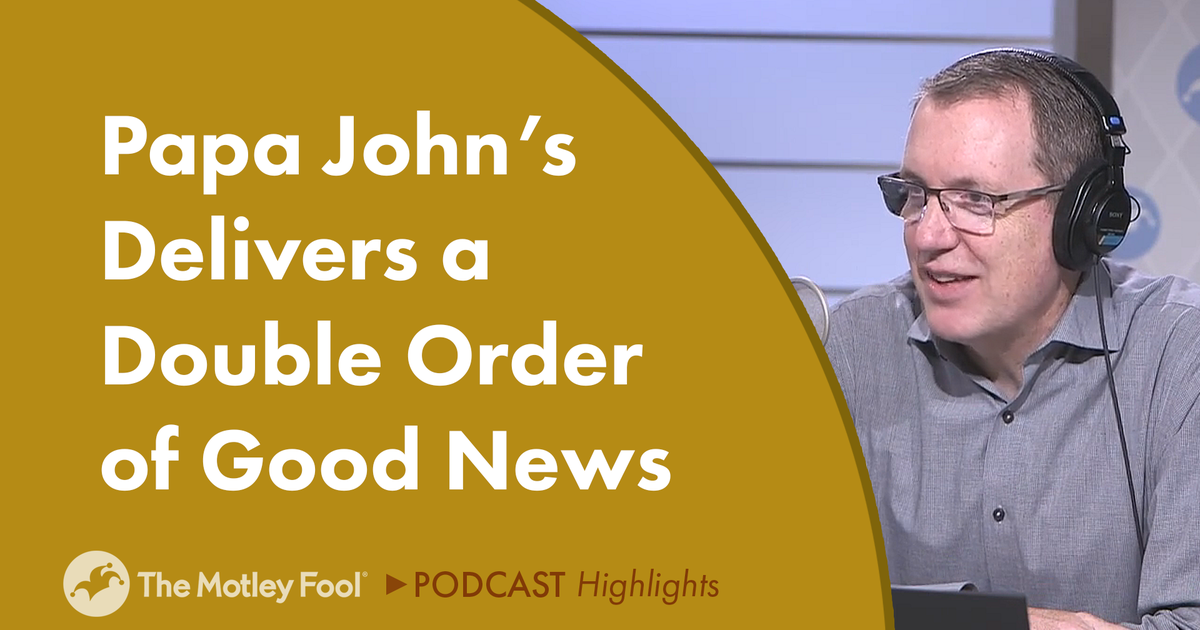 Papa John's Delivers a Double Order of Good News