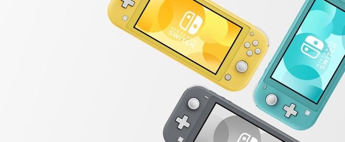Nintendo's Switch Lite.