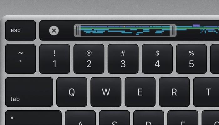 16-inch MacBook Pro keyboard