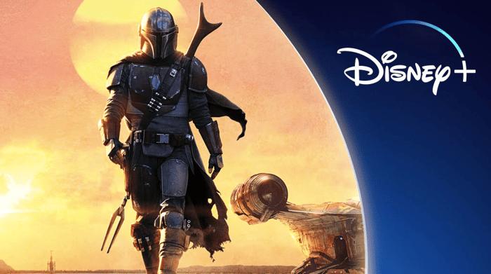 Disney+ The Mandalorian poster