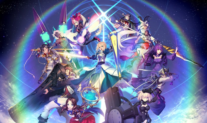 Promotional art for Fate/Grand Order.