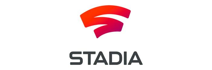 The Stadia logo.