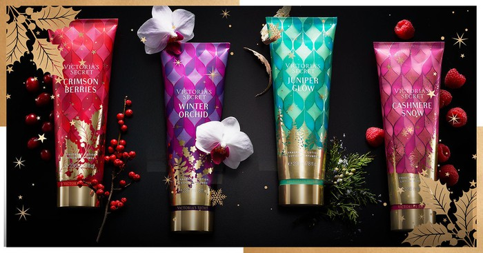 Victoria's Secret personal care products.