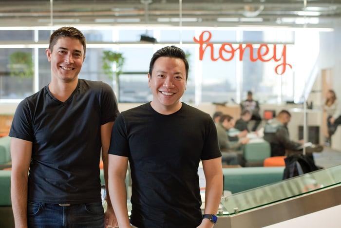 Honey Co-Founders Ryan Hudson and George Ruan