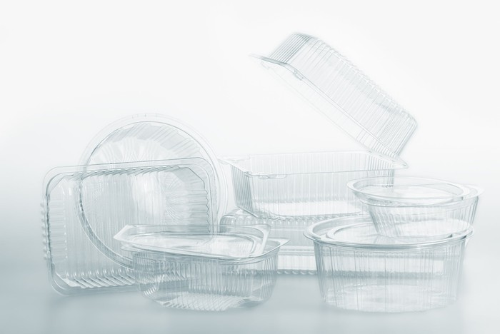 Plastic packaging products.