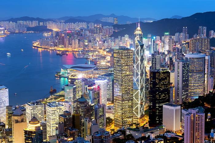 Hong Kong -- night view