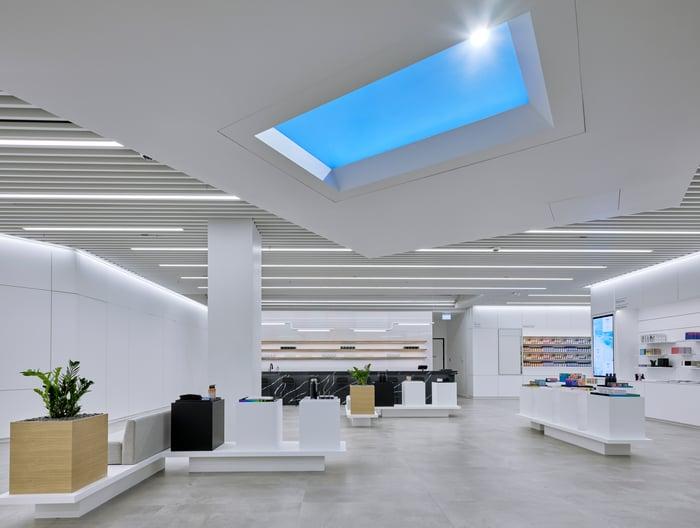 Interior of The Aurora Cannabis Store