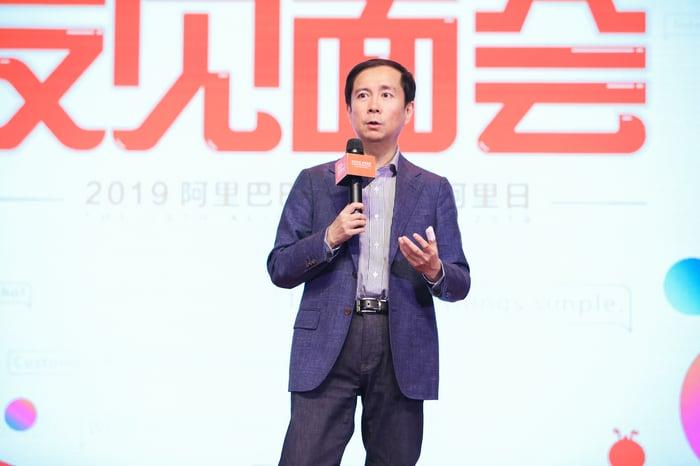 Alibaba CEO Daniel Zhang.