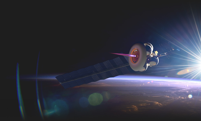Artist's conception of Momentus space tug Ardoride